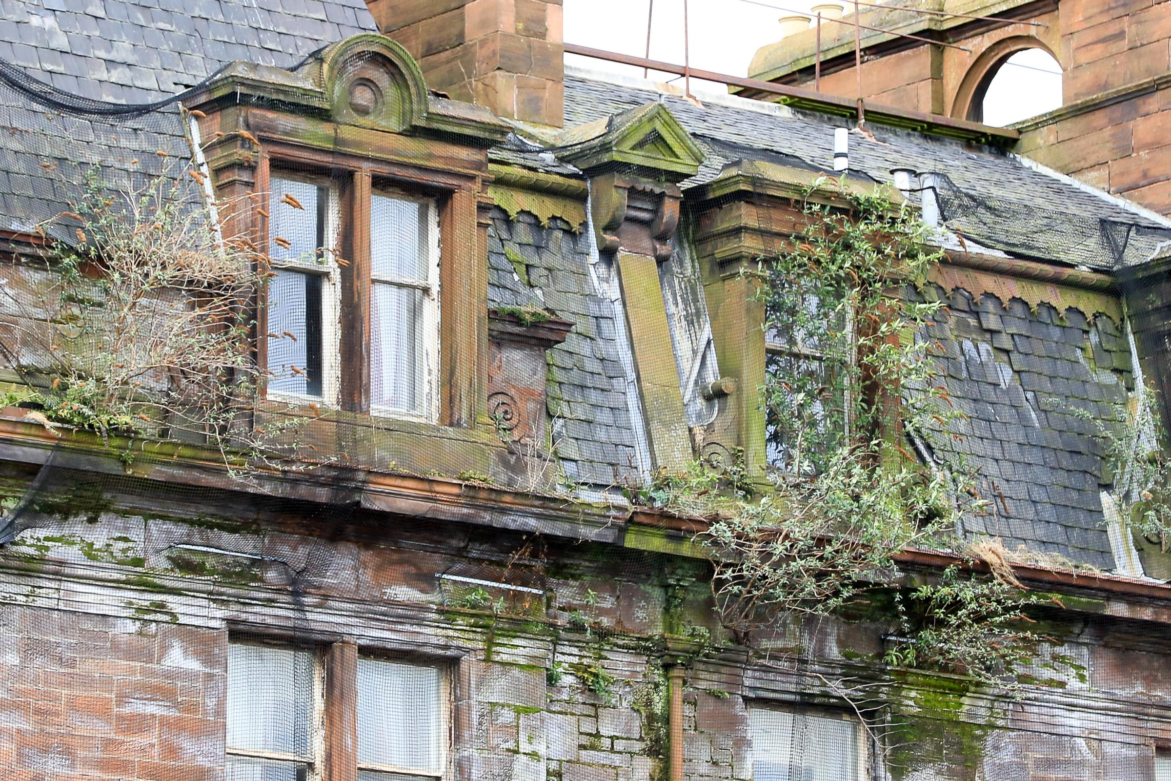 Iconic Ayr Station Hotel's sad fall into disrepair