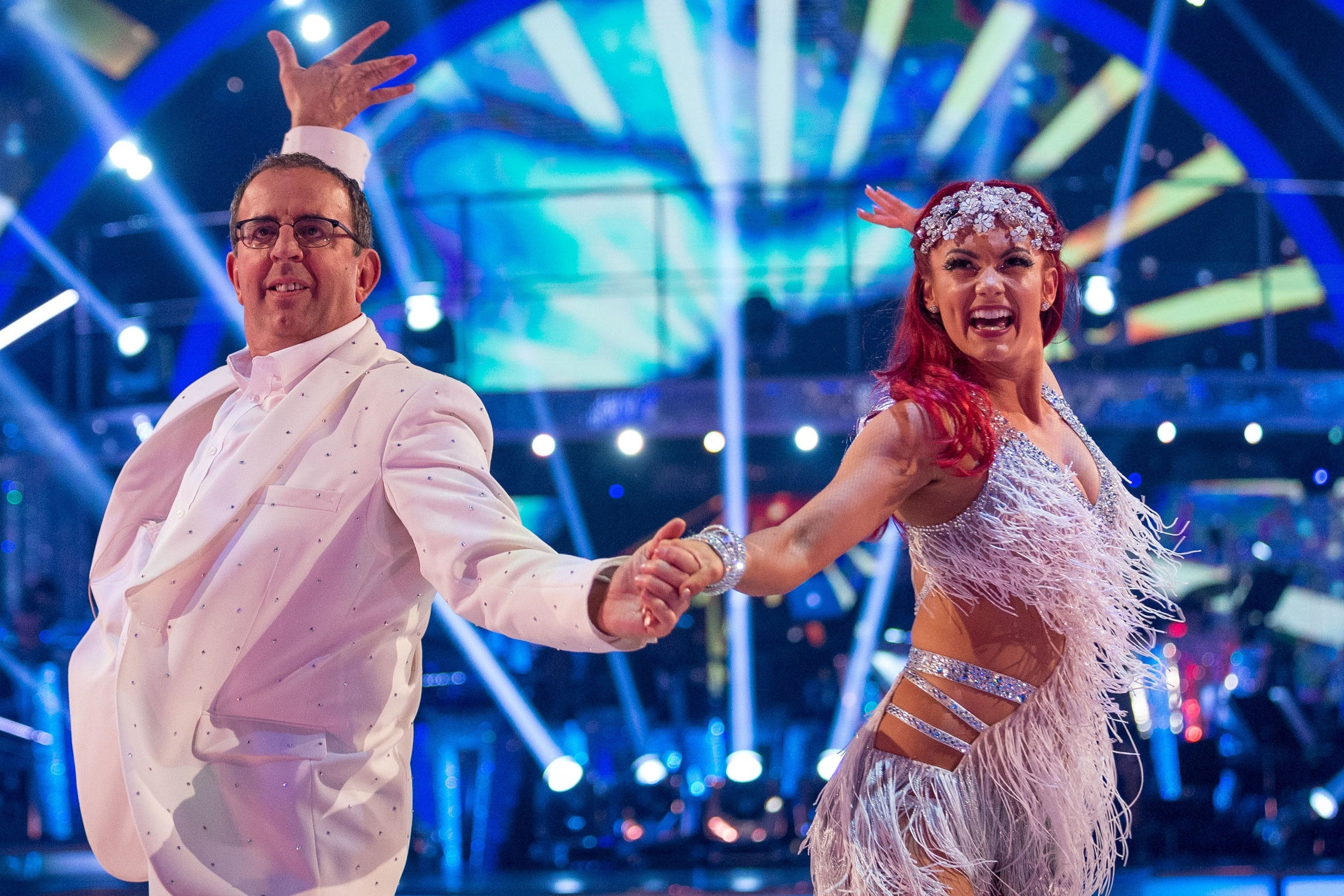 Strictly's first live show triumphs in the ratings as X Factor dwindles (Guy Levy/BBC/PA)