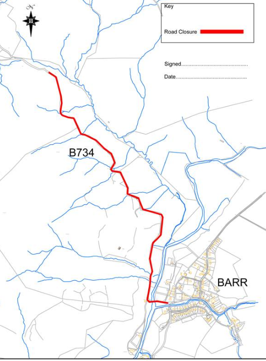 Councillors oppose plans for Barrhill windfarm extension