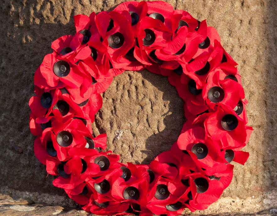 Remembrance times and locations for South Ayrshire