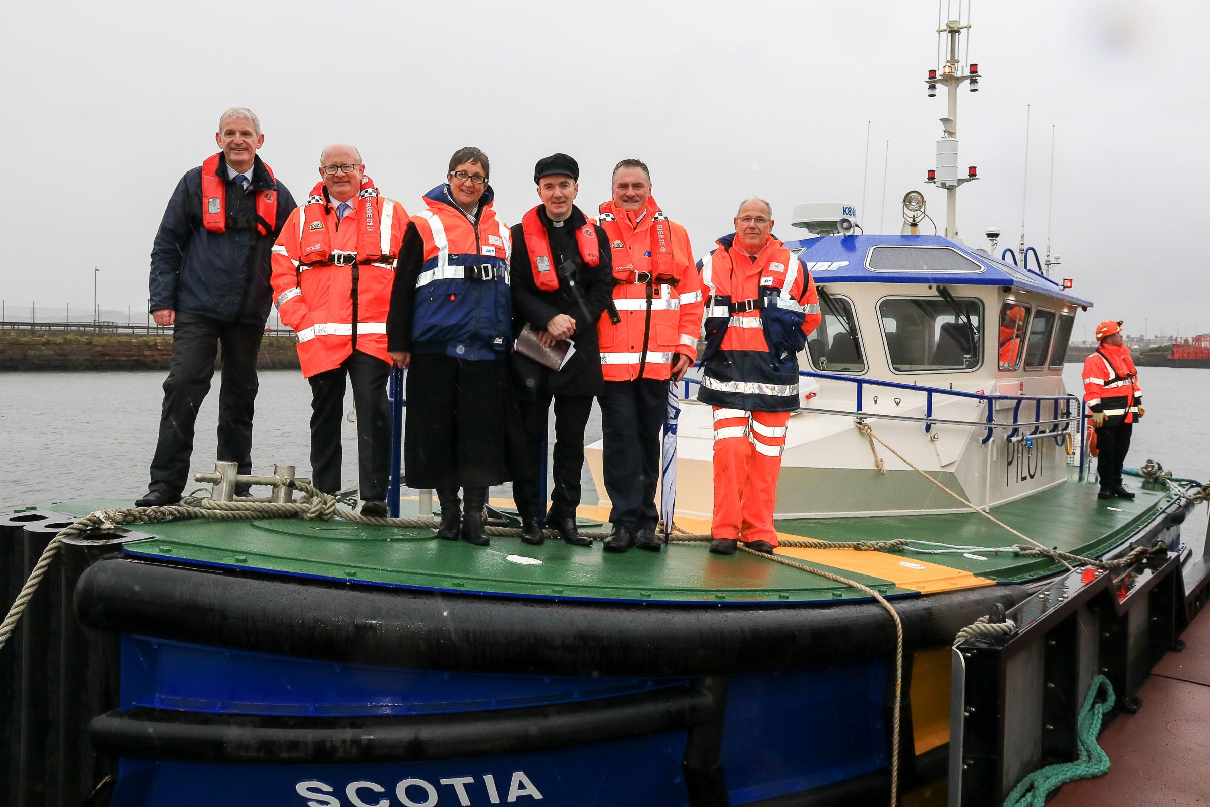 Ayr and Troon ports welcome new vessel