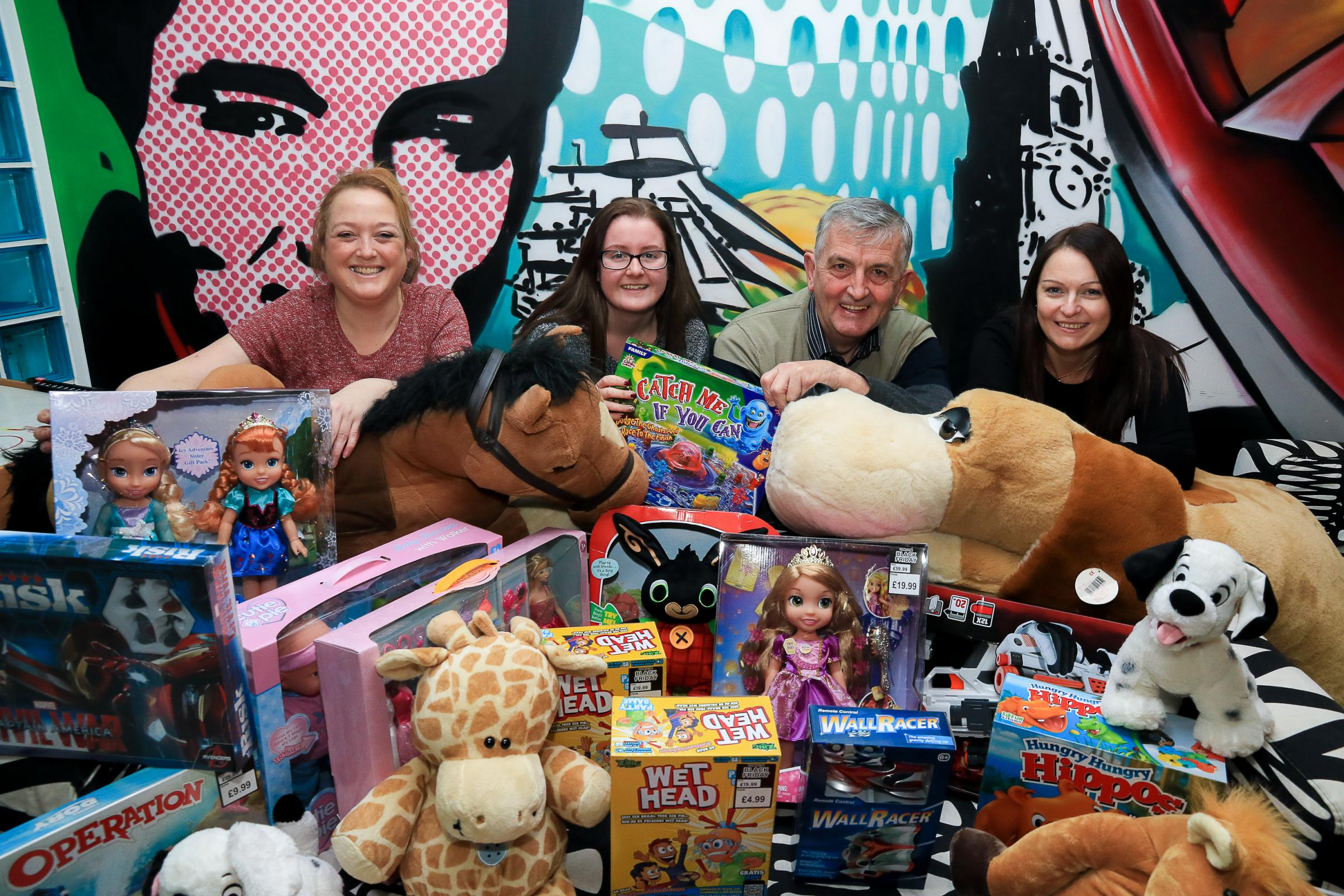 Girvan Youth Trust launch their toy raffle appeal