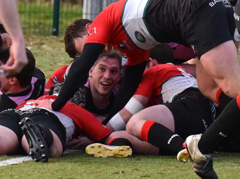 FINE WIN: Ayr hammered Glasgow Hawks. Picture: George McMillan