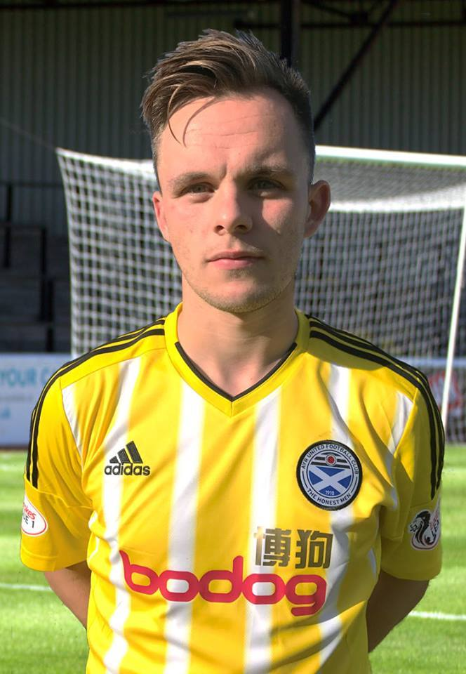 STRIKER SUSPENDED:  Lawrence Shankland is banned for the final two games of the league season.