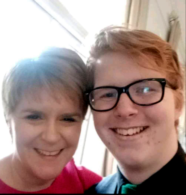 Callum meets First Minister in China