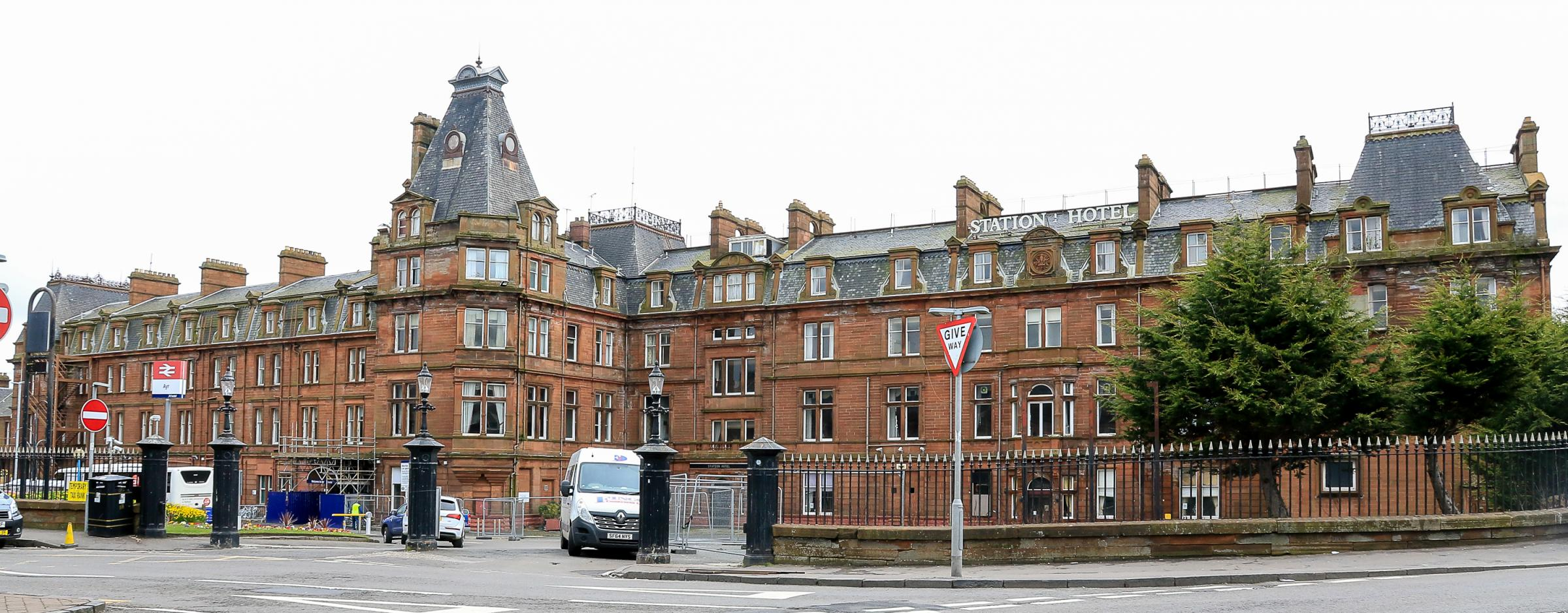 Bid to save Ayr Station Hotel