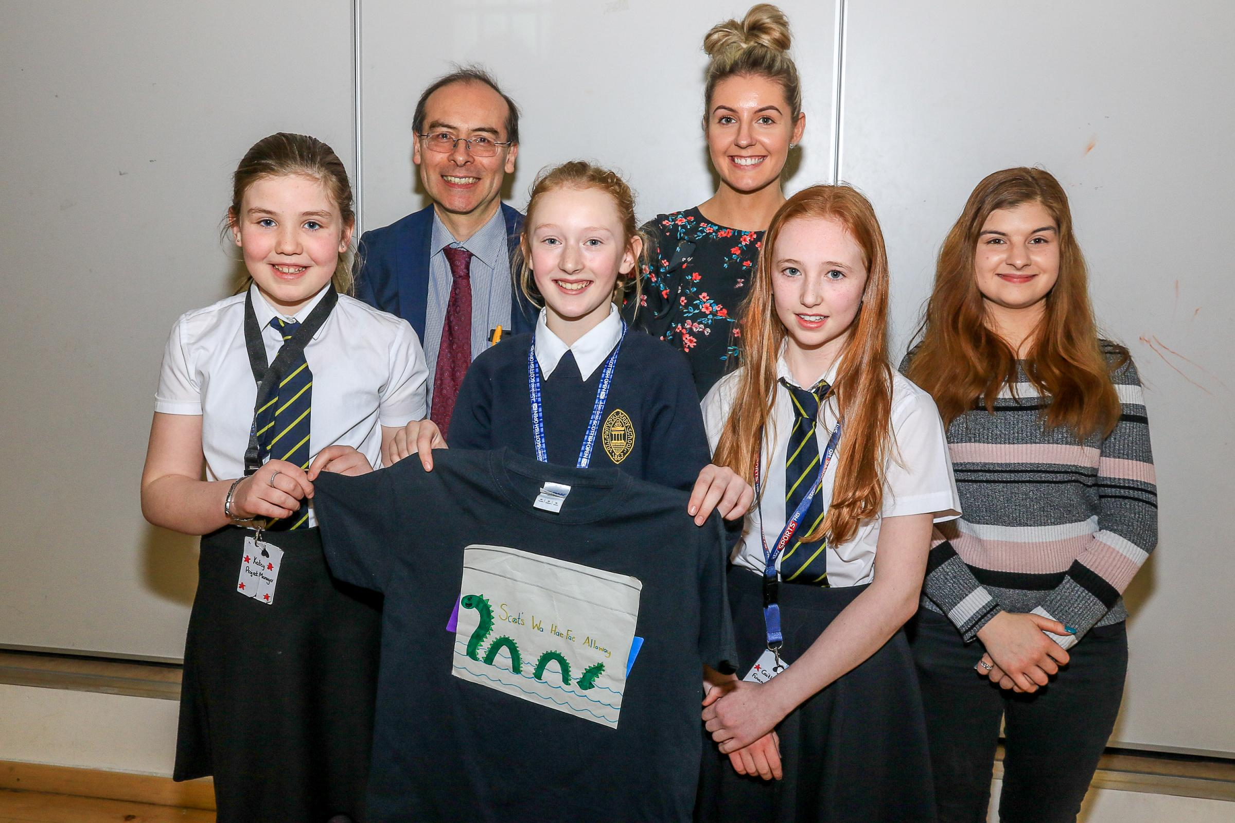Dragons Den comes to Alloway Primary School
