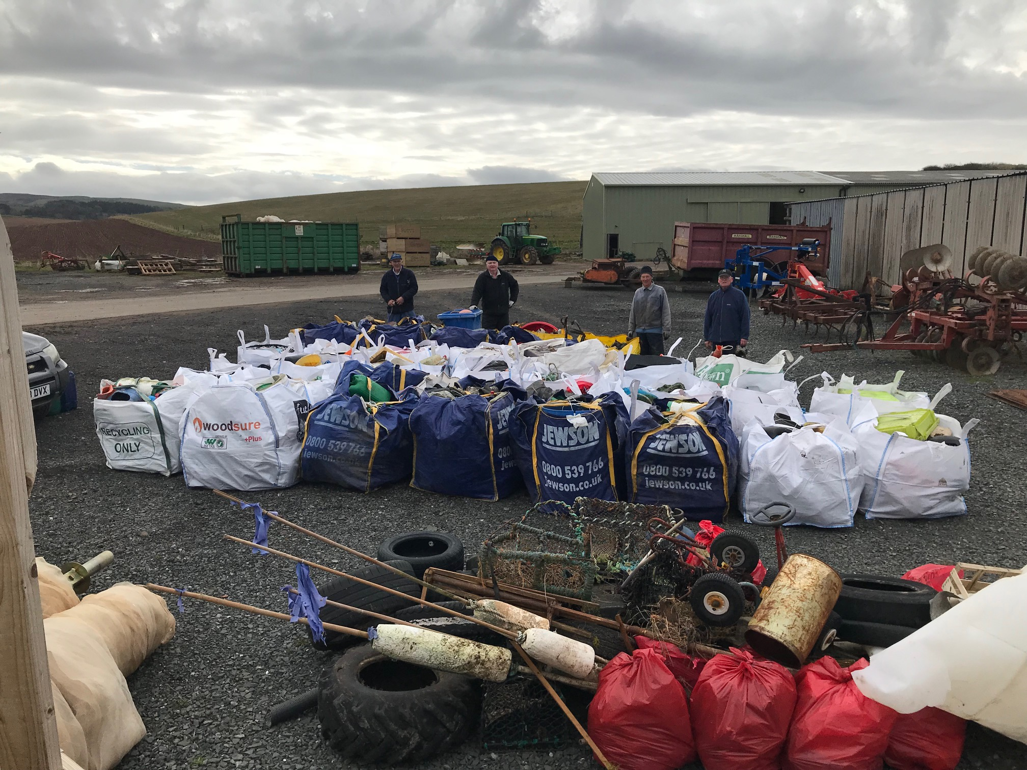 Troon's beach clean-up on the BBC