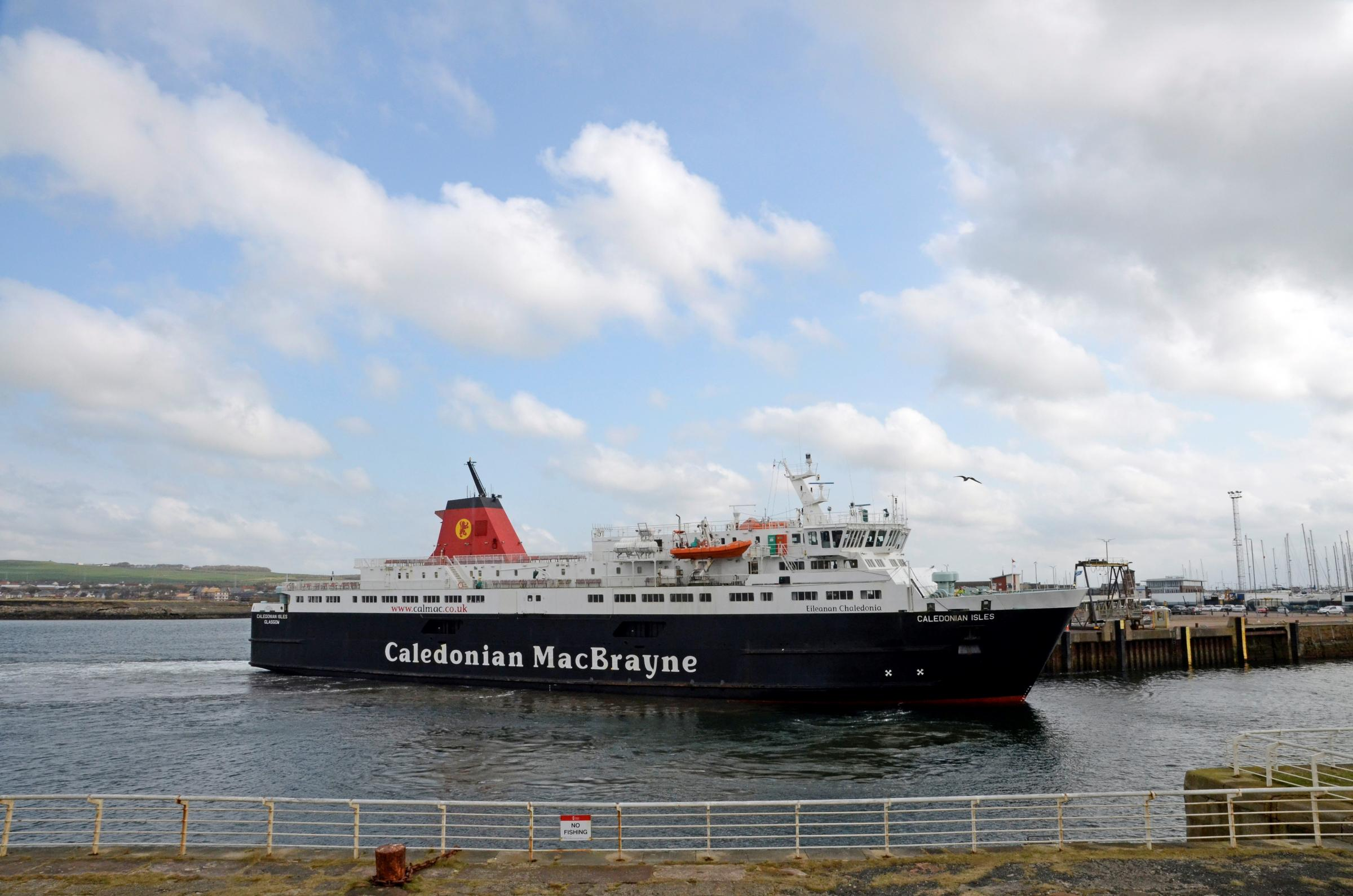 Troon could become (temporary) ferry host
