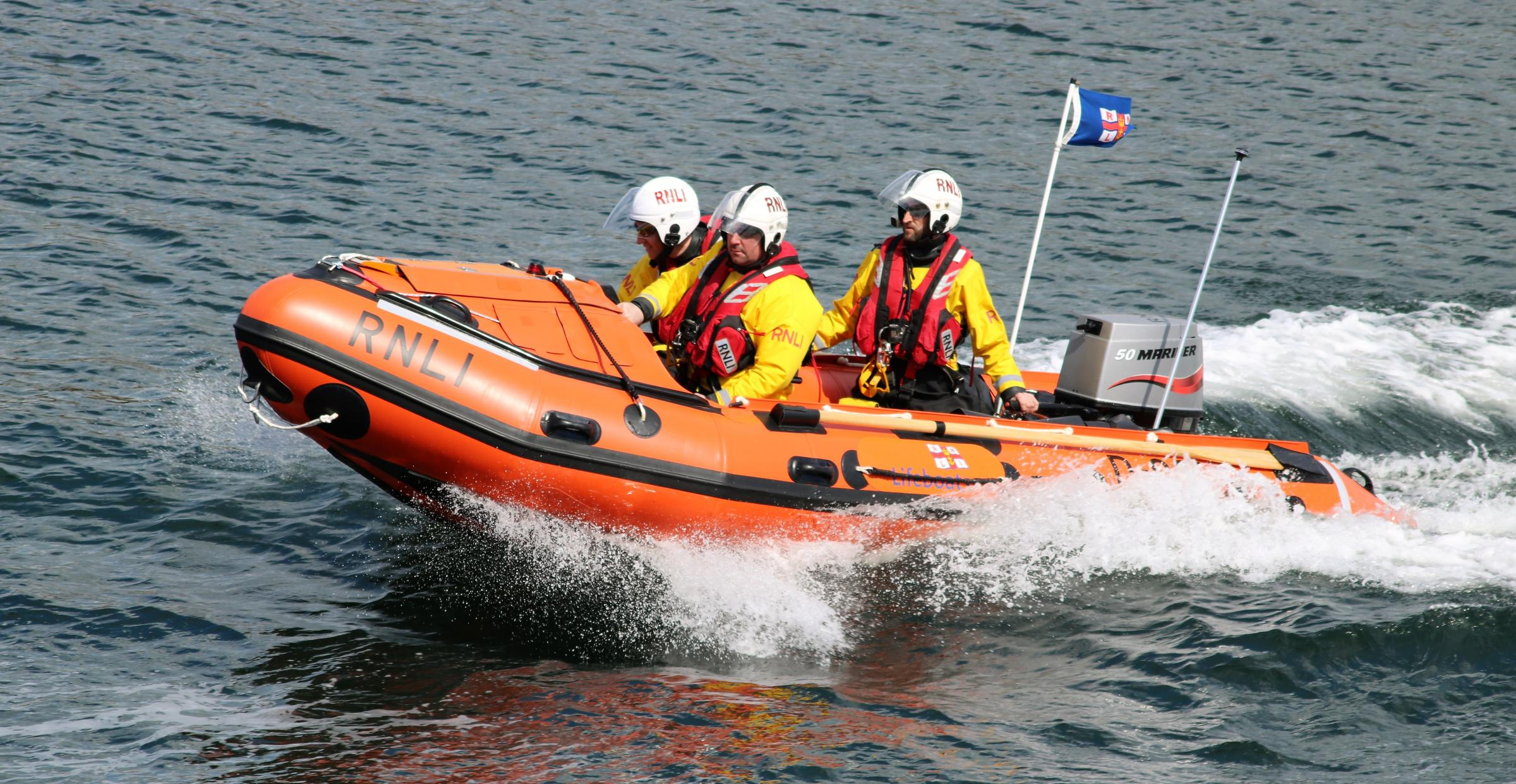 Troon Lifeboat is named 'Sheena'
