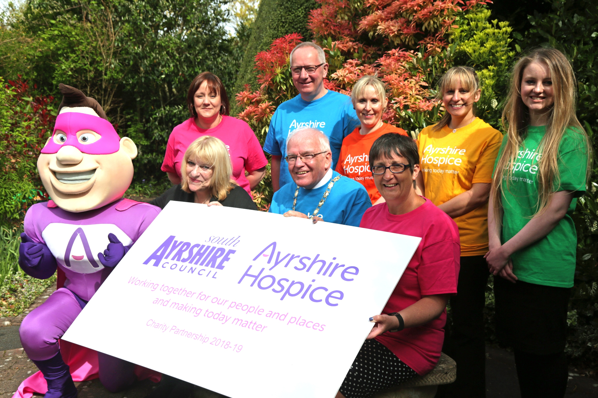 South Ayrshire Council supports Ayrshire Hospice
