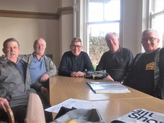 Men's Shed group gets offer from Girvan Football Club