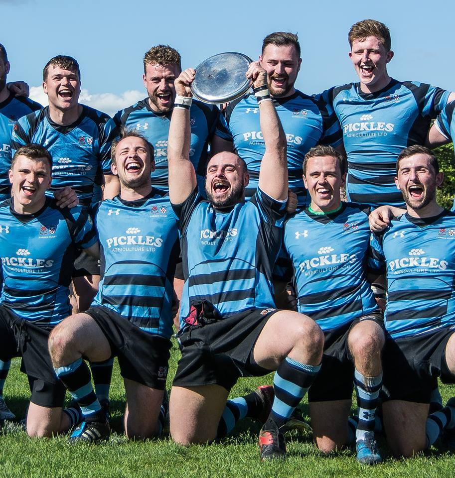 Carrick Rugby Club Are Treble Toppers Ayr Advertiser
