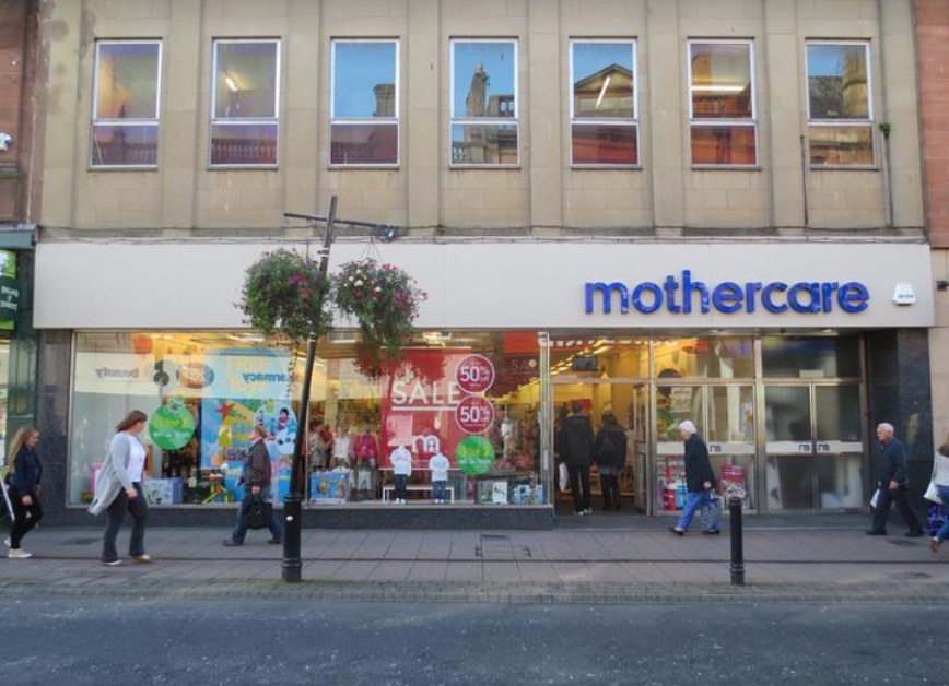 Mothercare in Ayr spared the axe