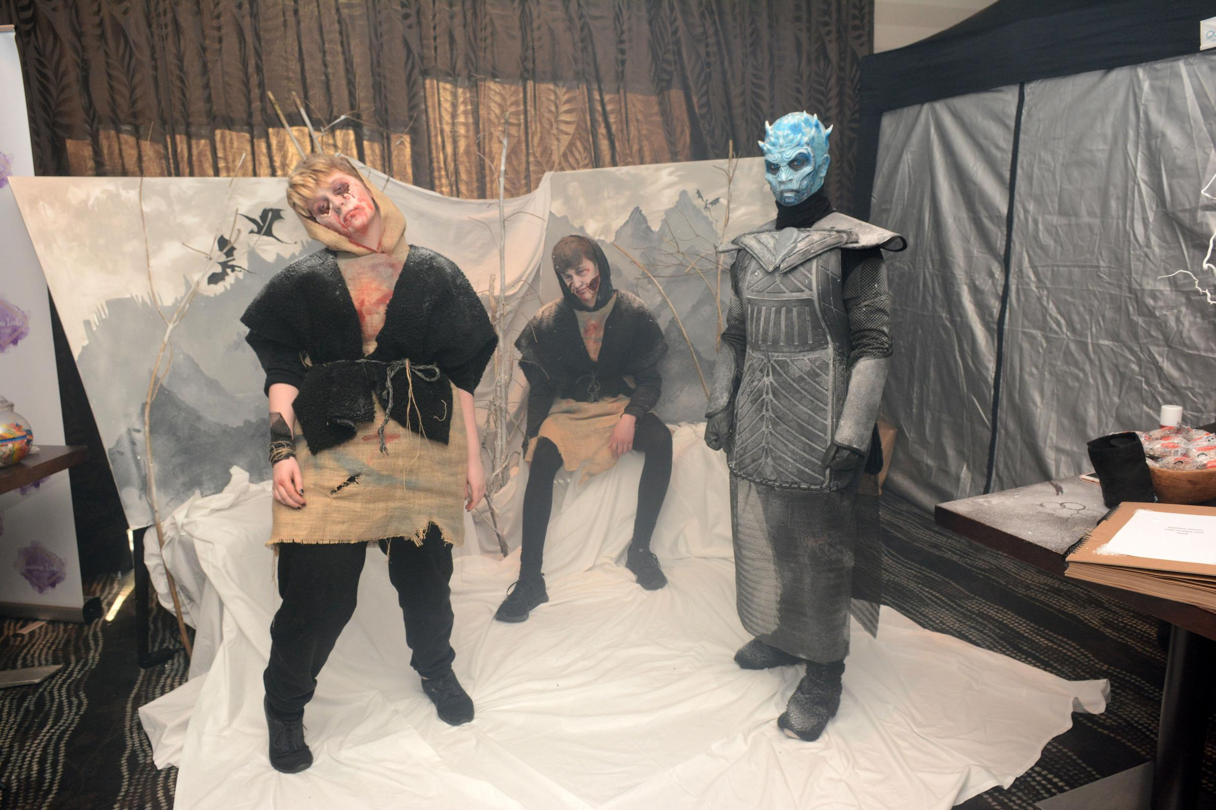 Horror creations shown off within Prestwick hotel