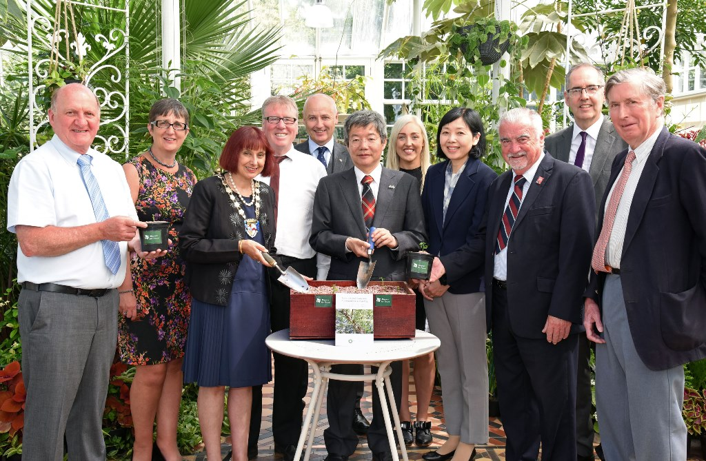 Link with Japan for popular Ayr conservatory