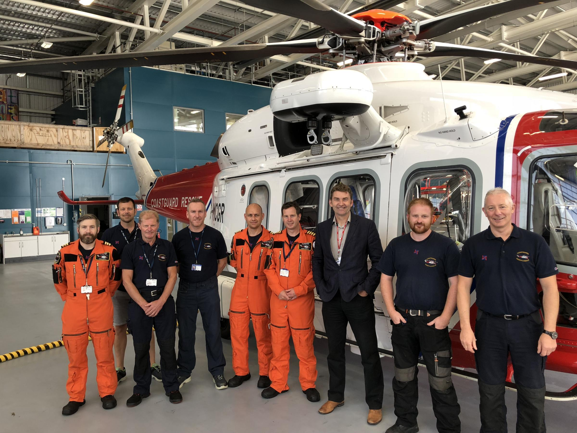 TOUR: MSP praises Search and Rescue team