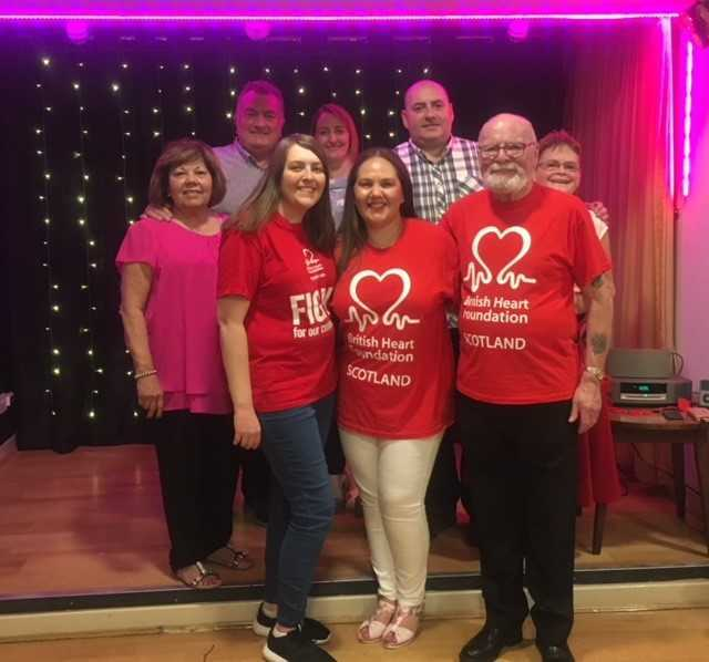 Over £1,000 raised at Ayr charity night for British Heart Foundation