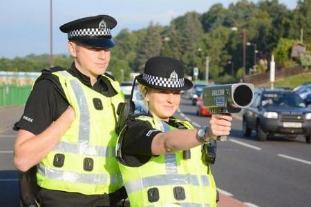 Police crack down on speeding in Troon as man reported