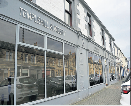 Anger over delayed expansion of Troon's busy Templehill surgery