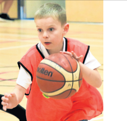 Basketball goes down a storm in Ayr