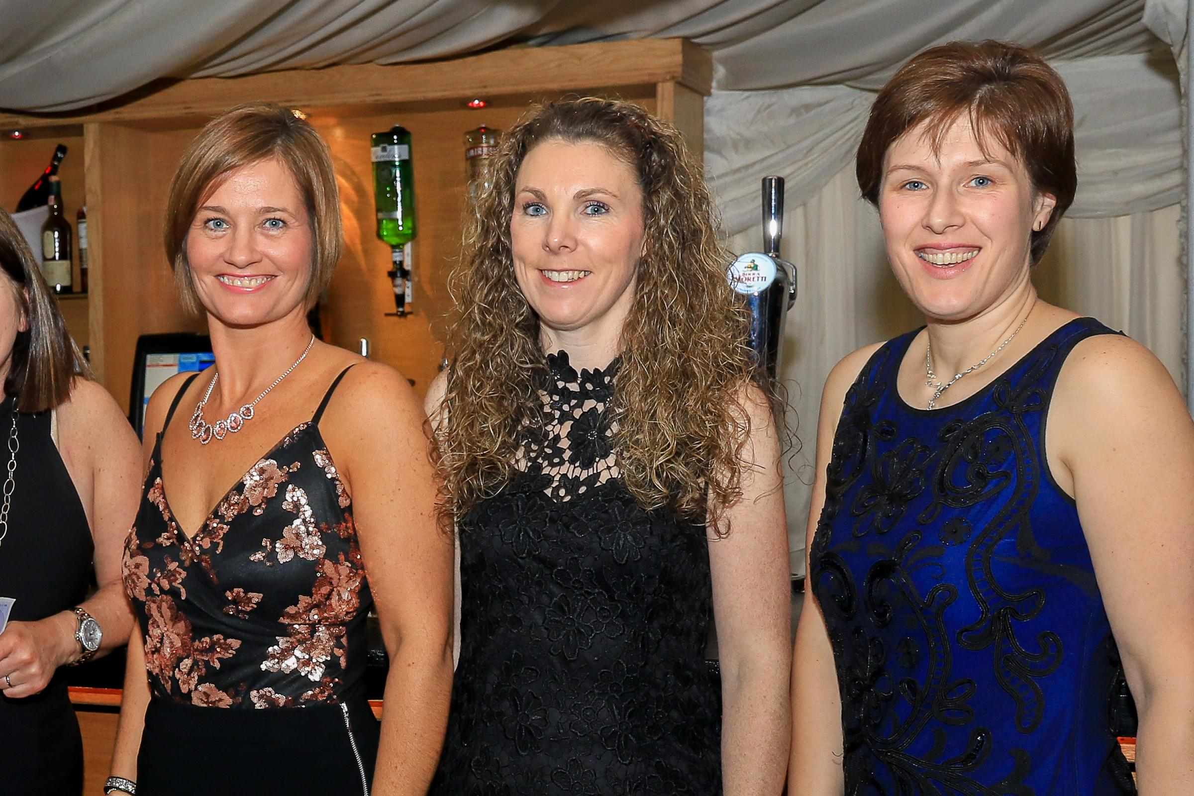 ANNUAL EVENT: Revellers are pictured at last year's Black & Bling Ball.