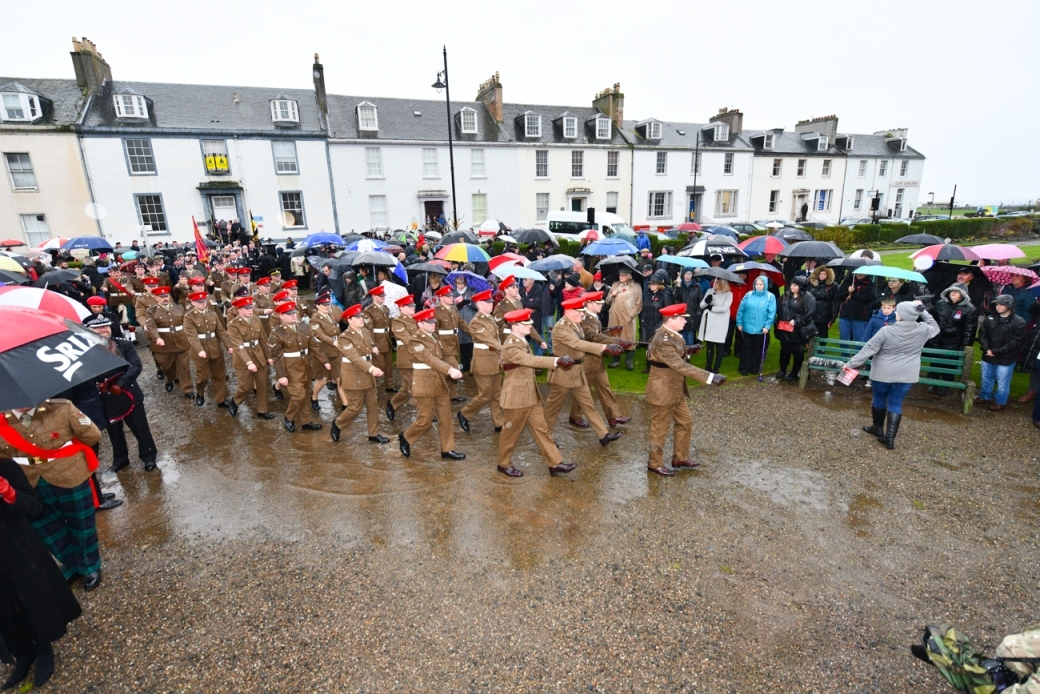 Ayr marks 100 years since Great War with Remembrance Service