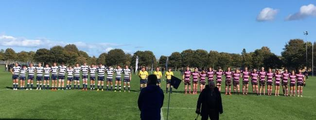 NARROW DEFEAT: Ayr Rugby lost to Currie.