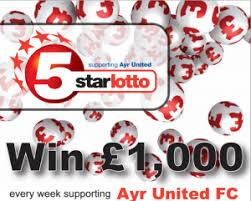 Football club Five Star Lottery winners are confirmed as we approach Christmas