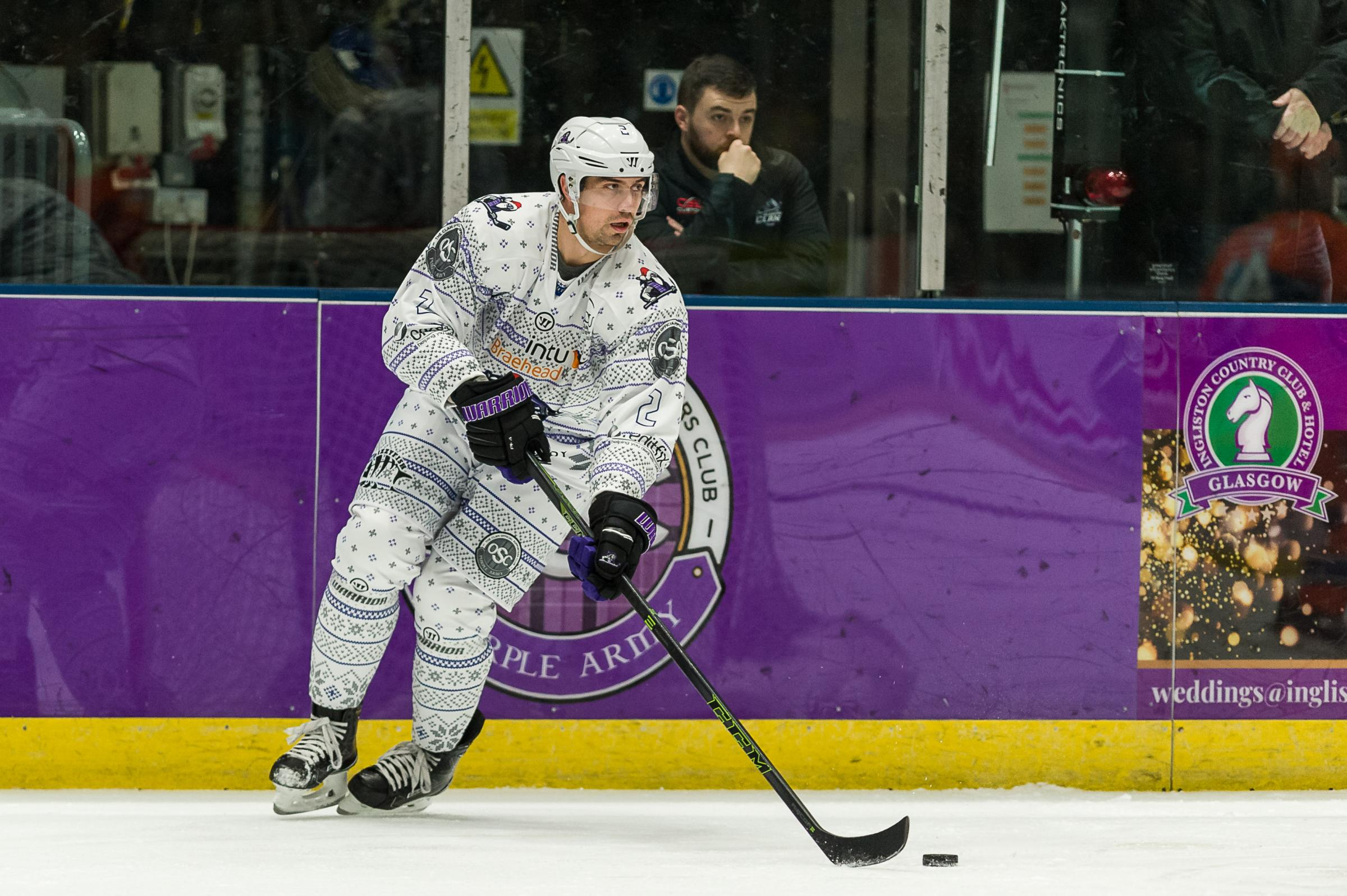 GREAT WIN: Braehead Clan defeated Sheffield Steelers. Picture: Al Goold