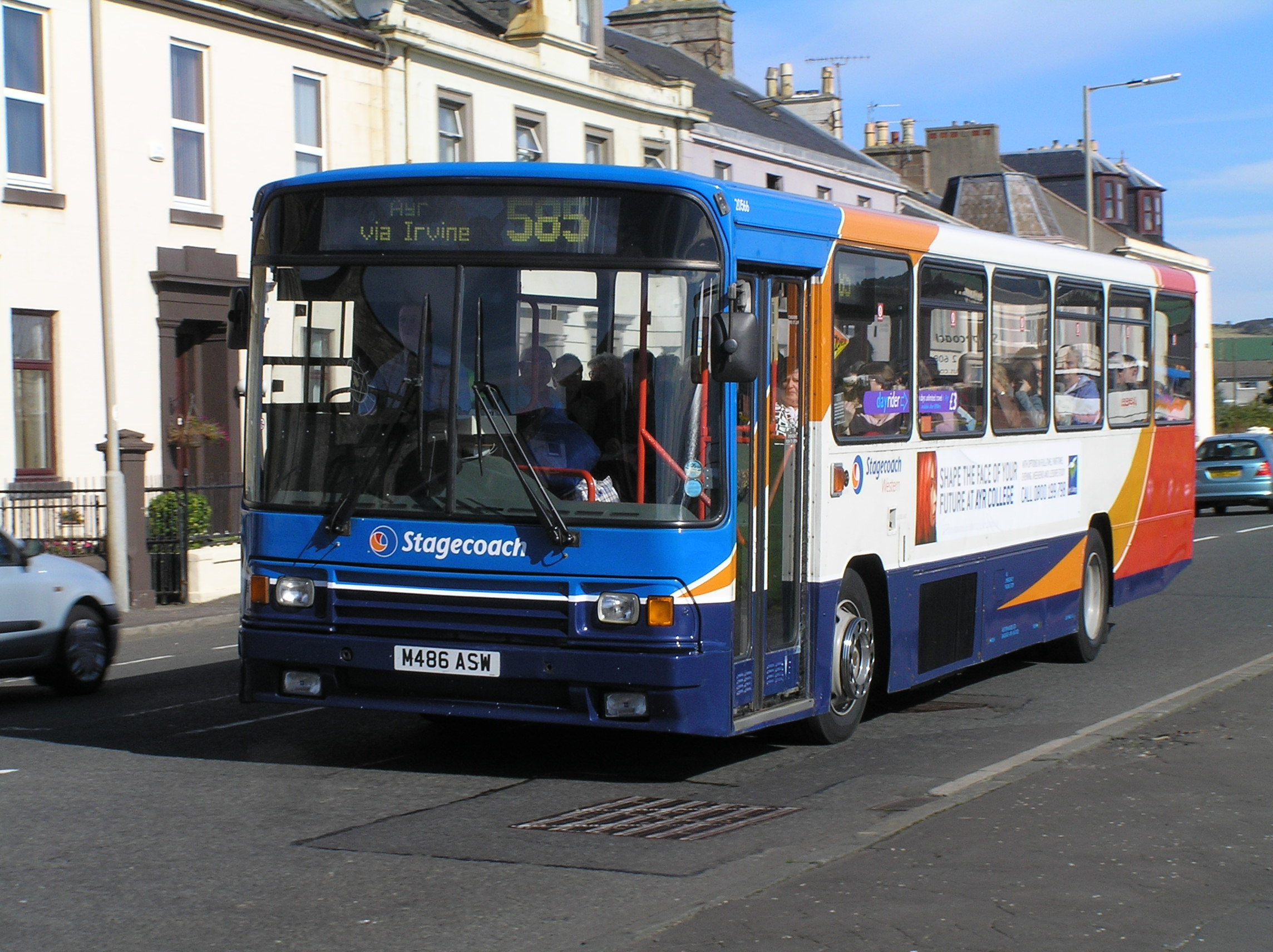 BUS CONCERNS: Troon residents are disappointed at a route change in the town.