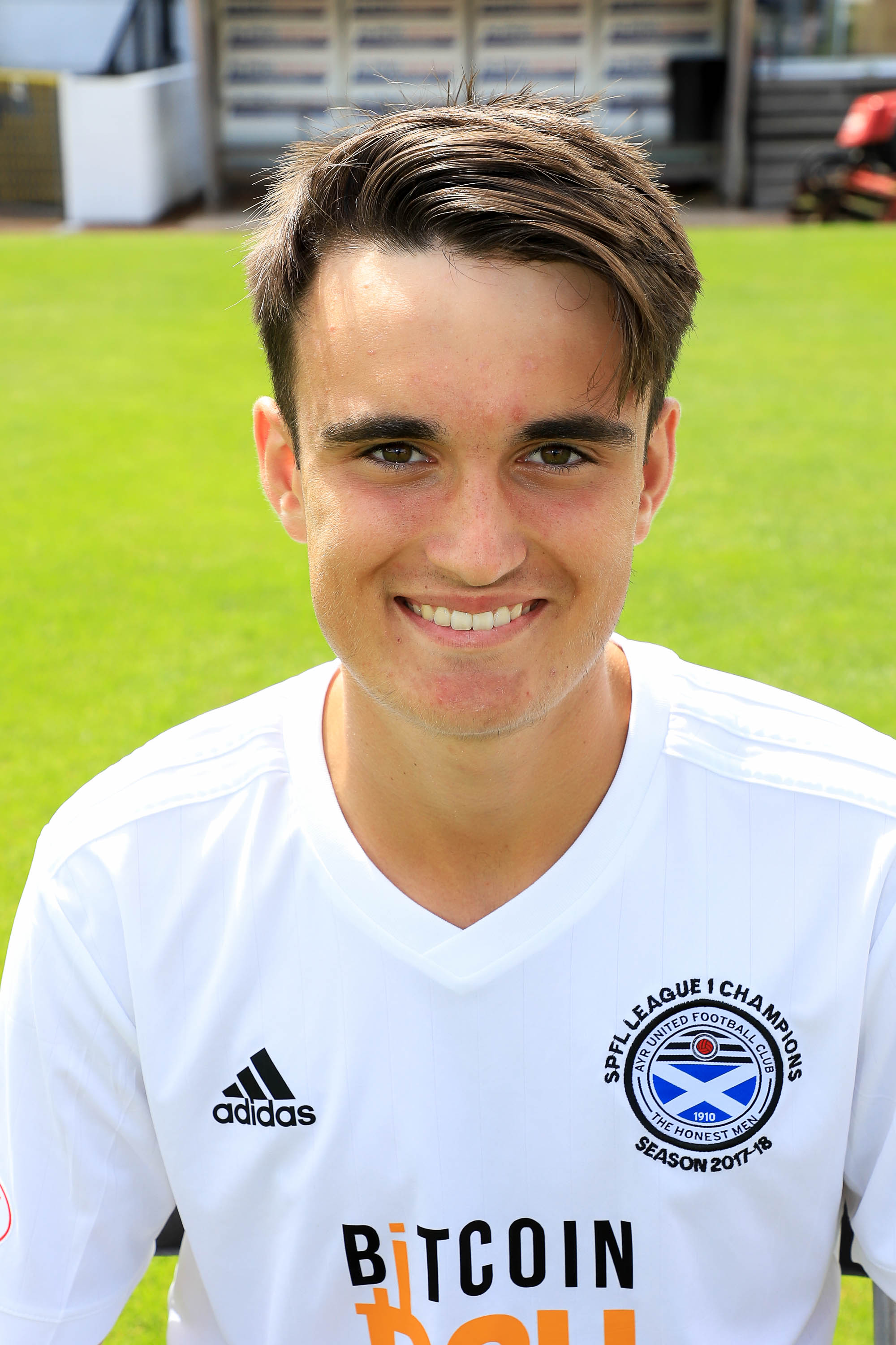 Scotland call up for Ayr United teenager
