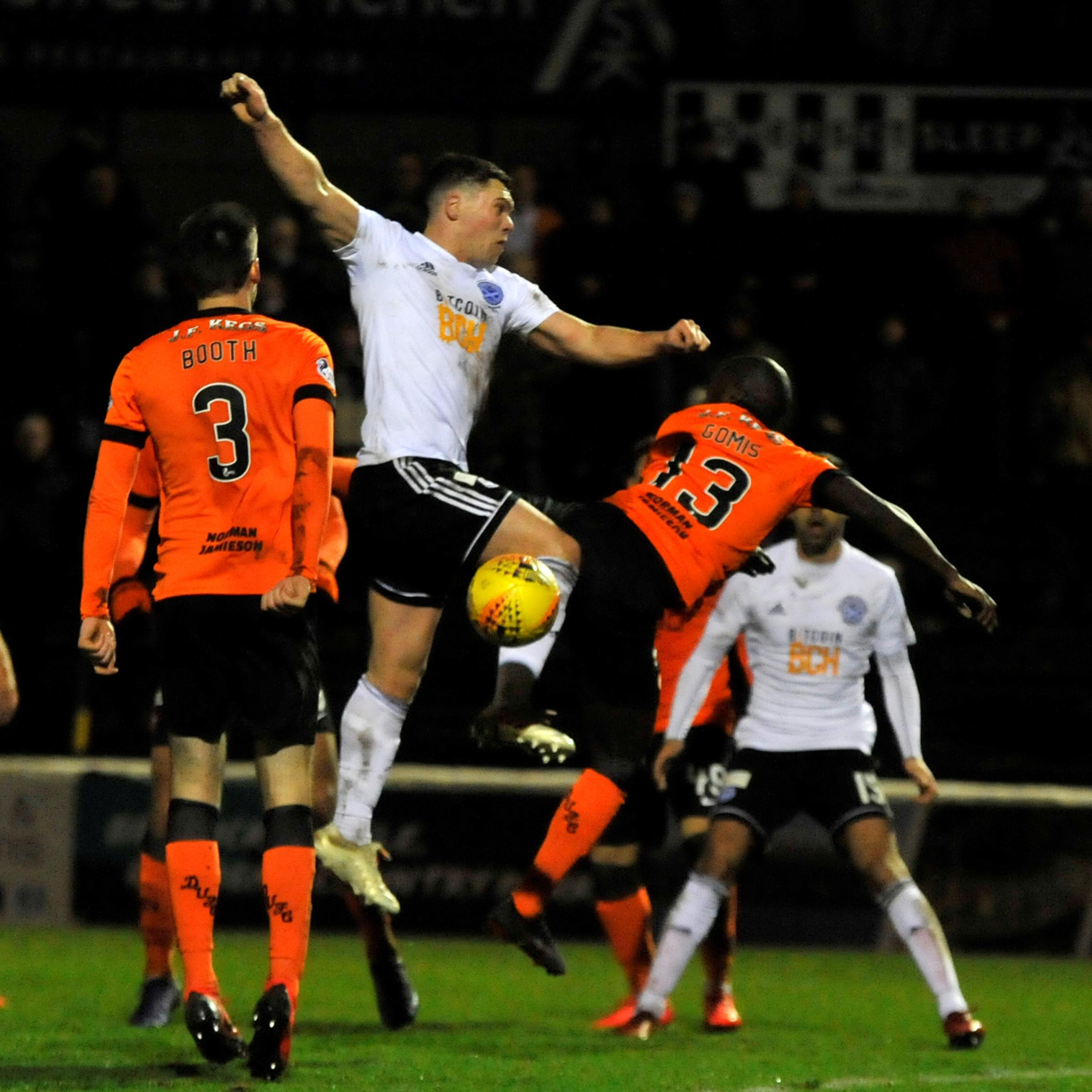 GOOD WIN: Ayr United defeated Dundee United