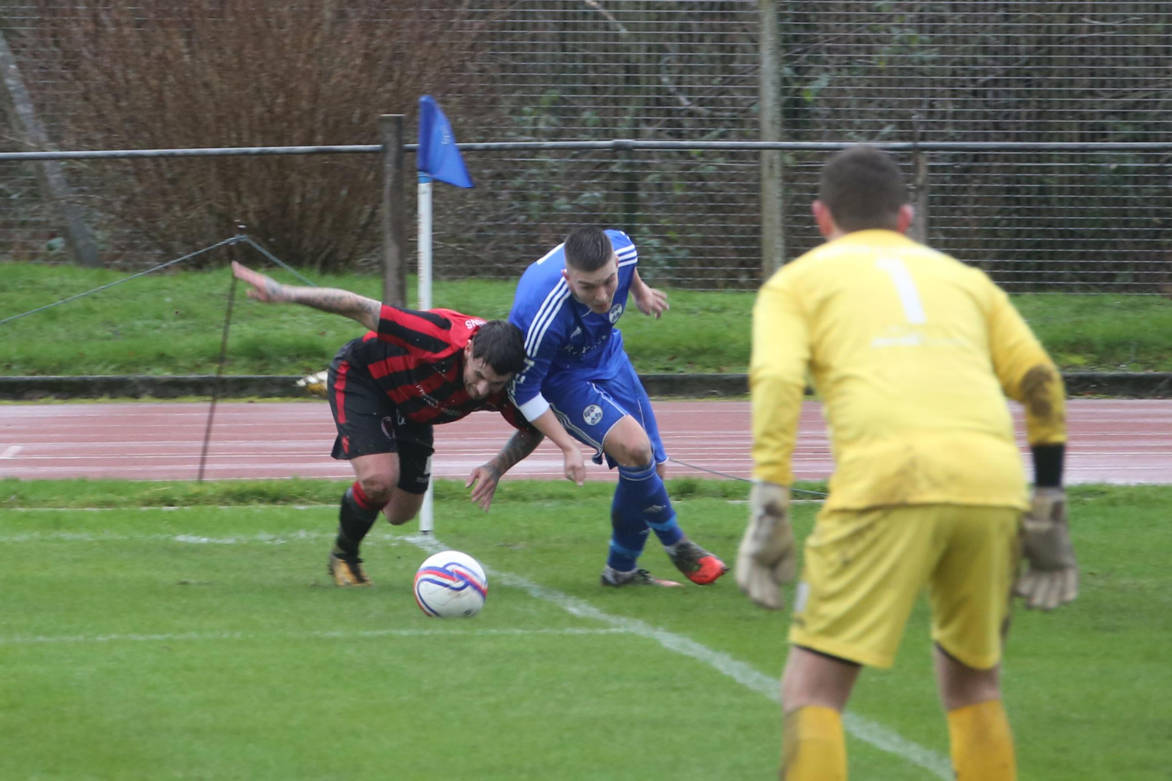 EASY WIN: Whitletts Vics were in cruise control