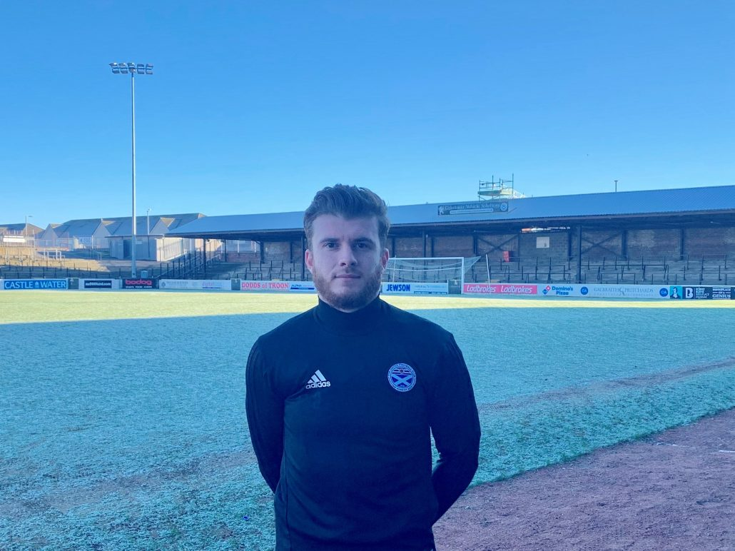NEW SIGNING: Nicky Cadden.