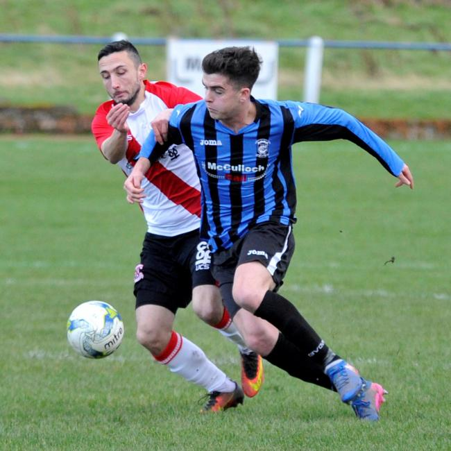 WELL BEATEN: Girvan lost  heavily to Clydebank