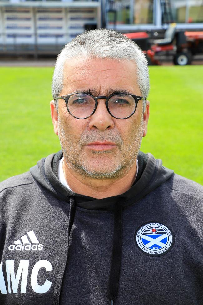 Ayr United boss Ian McCall.