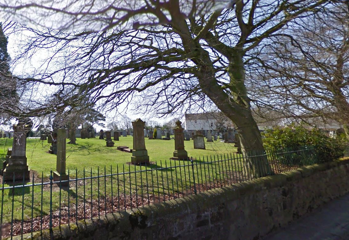 Graves could be dug up at Tarbolton cemetery to repair wall