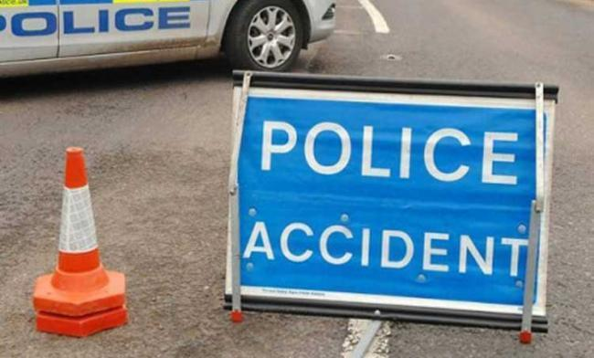 Woman taken to hospital after crash on B743 near Ayr