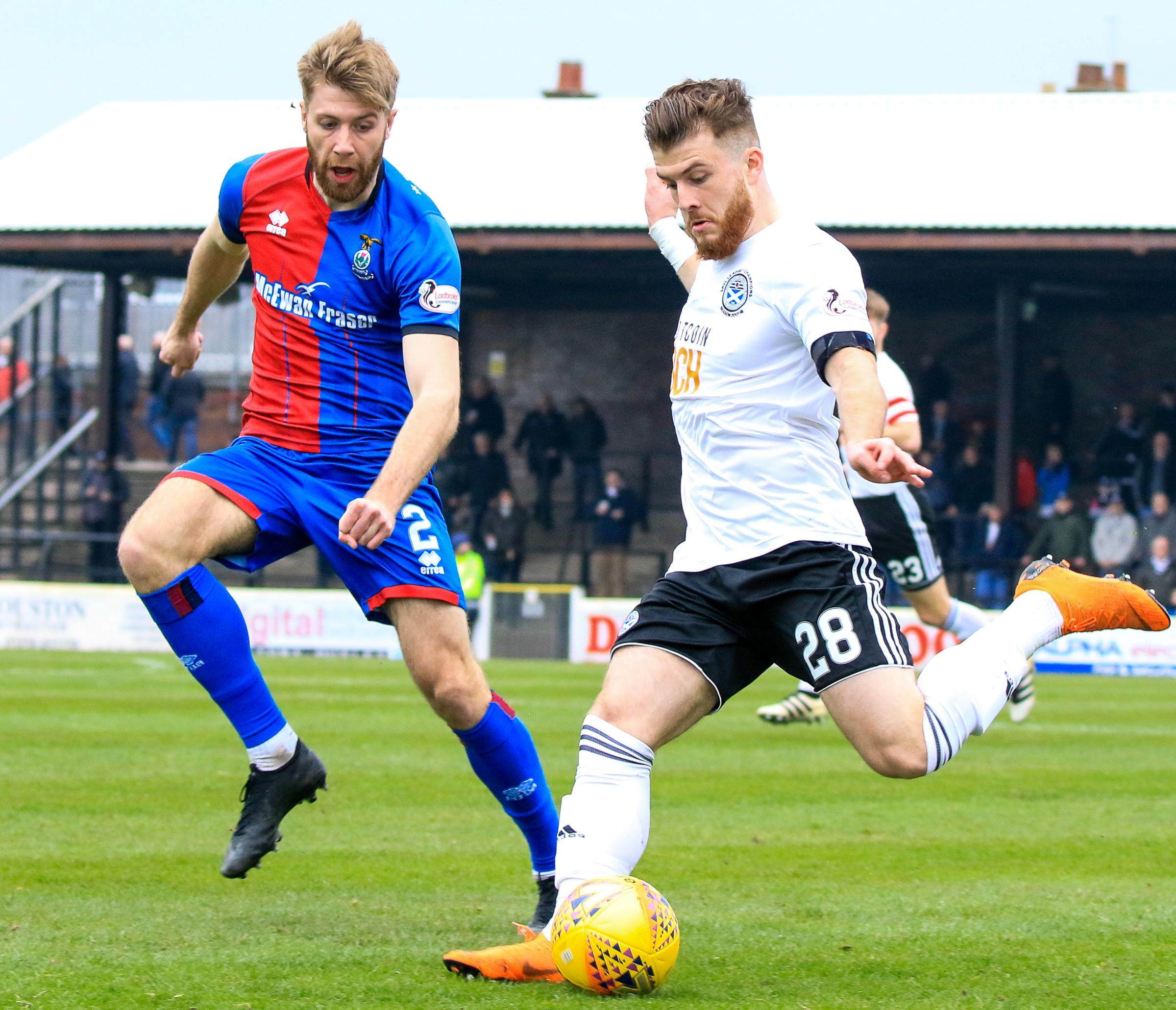 Ayr go on the attack against Caley Thistle.