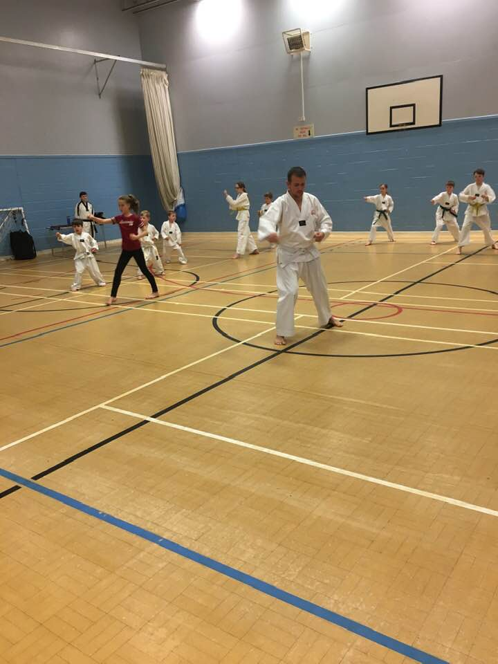 CENTRE FEARS: Martial arts members worry about the future of Muirhead Activity Centre.