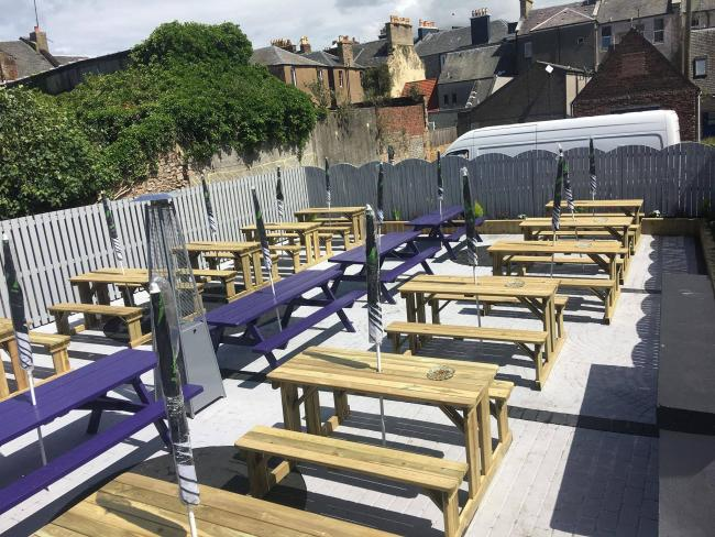 Inside Ayr's coolest beer garden at Arthur Street Kitchen
