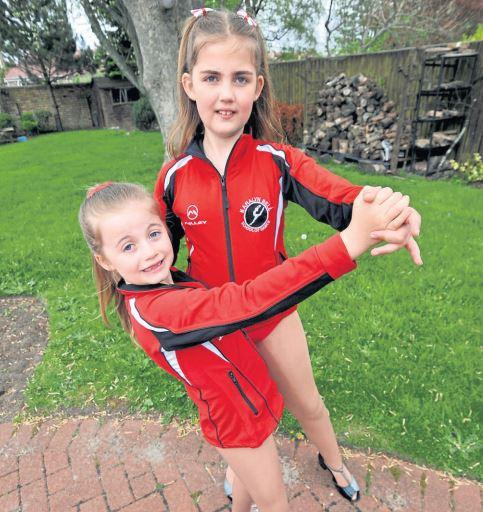 Troon sisters all set for the Strictly dance final