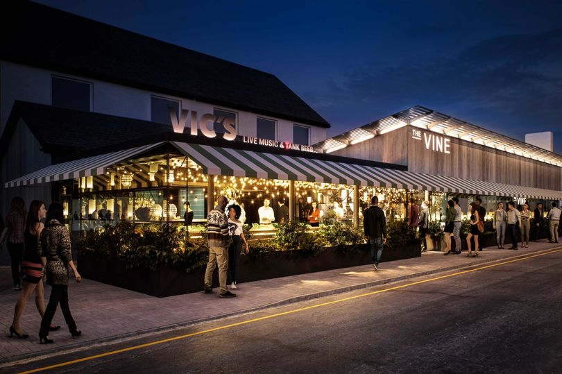 Prestwick's Vic's and The Vine opening tonight