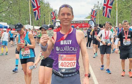 Troon store manager puts out 'big thanks' after running London Marathon