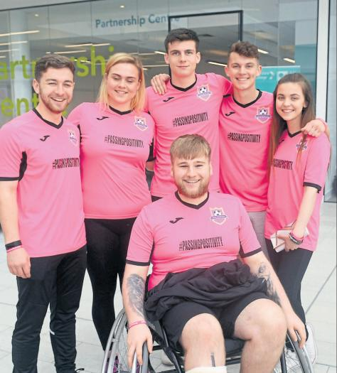 College enlists famous supporters for event in aid of Kris Boyd charity