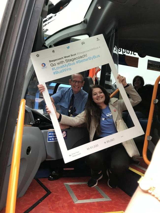 Stagecoach offering chance to win free bus travel to Glasgow for a year