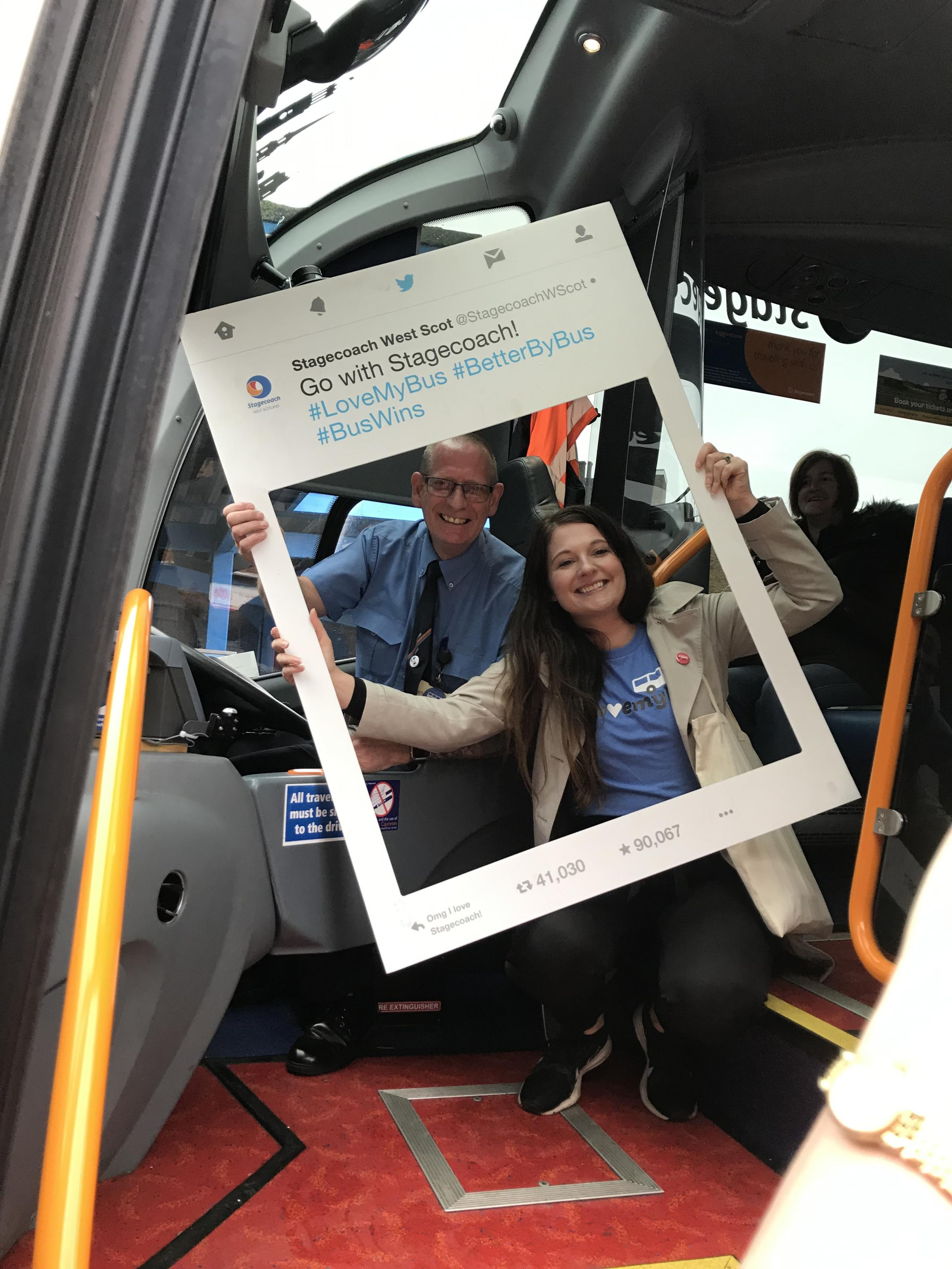 Stagecoach offering chance to win free bus travel to Glasgow for a